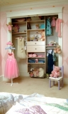 Children's Room Closet Organizer