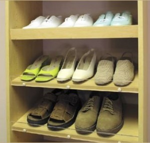 Closet Design Accessories: Shoe Rack