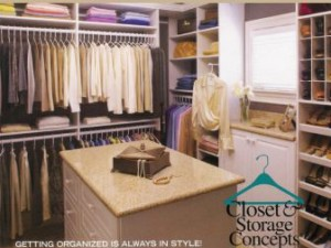 Closet Organizers: Closet & Storage Concepts