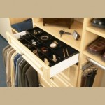 Lined Closet Drawers