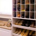 Shoe Rack Walk-in Closet Organizer