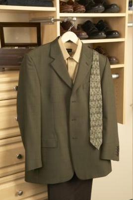 Walk-In Closet Organizers custom-closet-valet-rod – Closet and ...