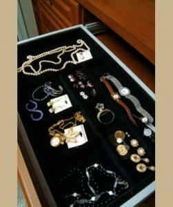 Closet Designer Jewelry Drawer