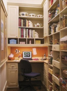 Closet Office Work Space