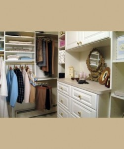 Add a Vanity to your Closet Organiztion System