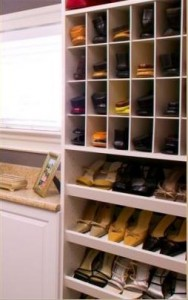 custom shoe rack plans