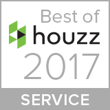 Best of Houzz Service 2017 award