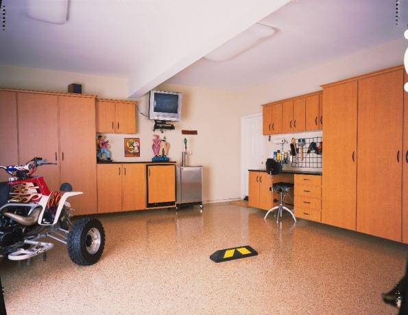 builtin garage cabinets in Providence, RI