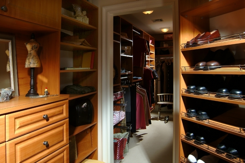 Custom closet storage New England