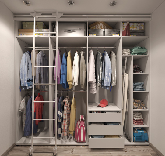 Merveilleux Making The Most Of A Small Space Using Closets