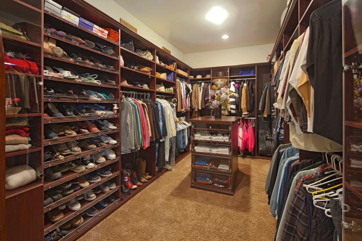 walk in custom closet Boston
