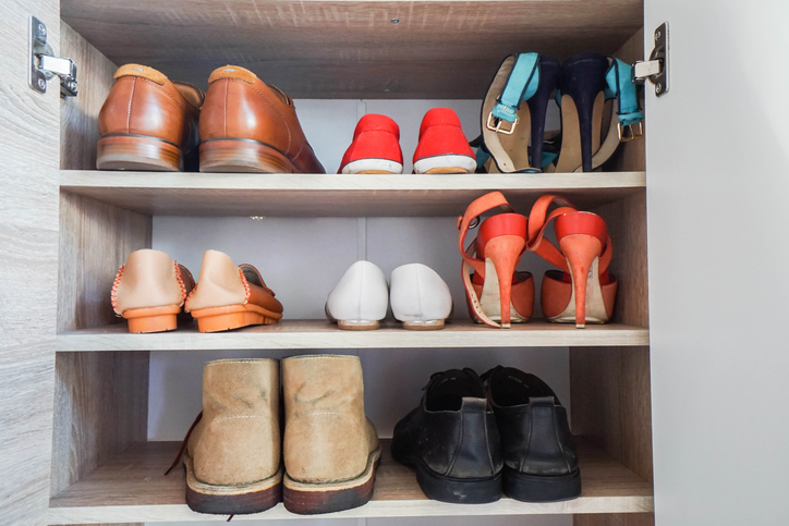 shoes custom closet storage Boston