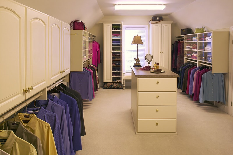 traditional custom closet design Boston