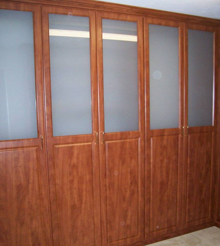 wall of storage cabinetry Boston