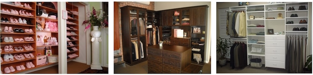 Local New England custom closet projects Closet & Storage Concepts