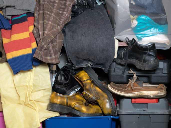 Messy Closet Boston