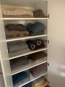 Boston custom closet shelving