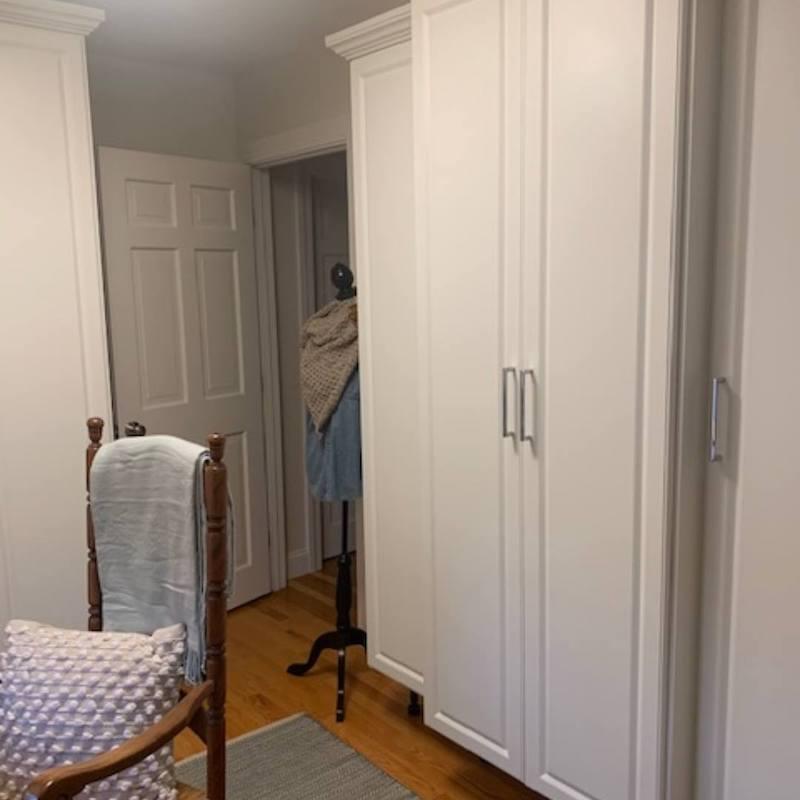 custom closet wardrobe Boston, MA