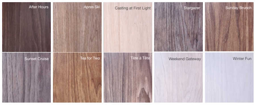 luxurious cabinet finish options - Viva line