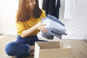 Clothing Donation Box - Closet and Storage Concepts Boston