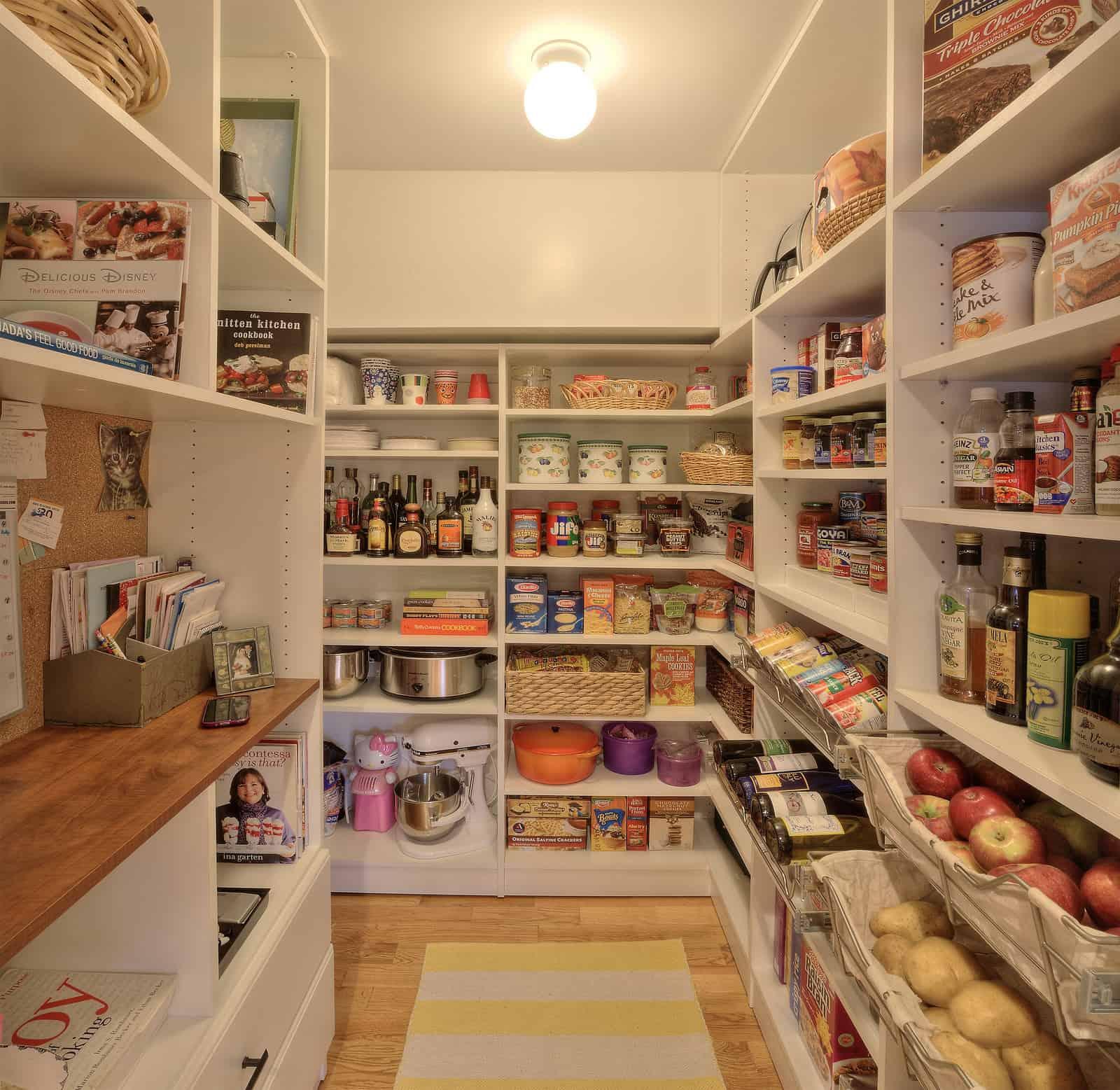 Modern Organized Kitchen Pantry - Closet & Storage Concepts Boston