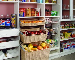 Custom pantry storage - Closet & Storage Concepts Boston