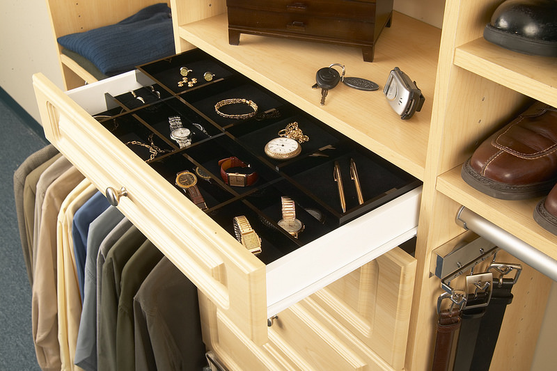 jewelry drawer insert for custom closets