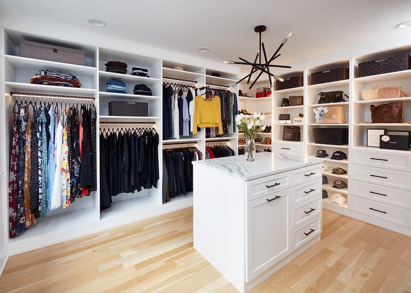 modern custom closet boston