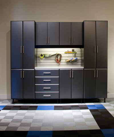 custom garage cabinets made of carbon fiber
