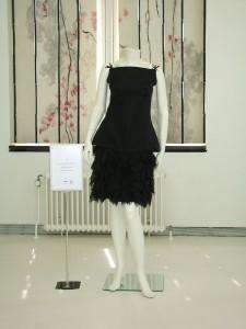 Black Dress on Mannequin