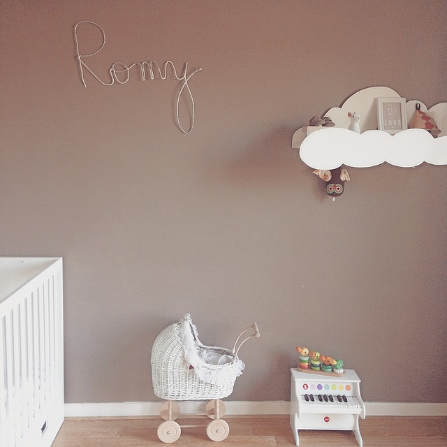 Clean and neat child nursery
