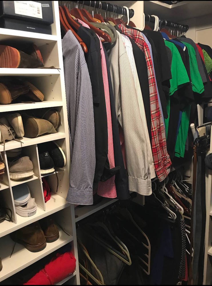 Great Small Custom Closet Charlotte