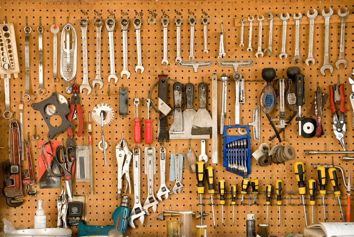 Creative Garage Tool Storage Ideas