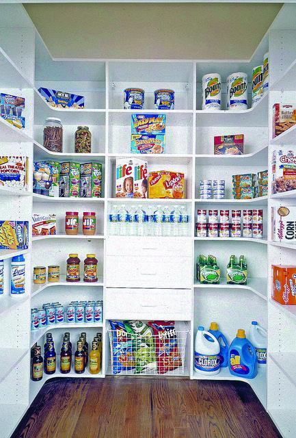 Custom pantry shelving Charlotte