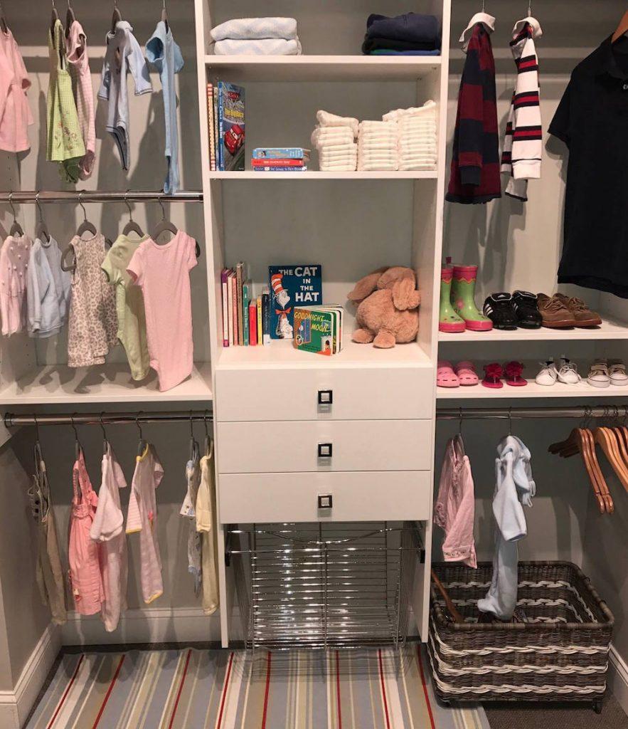 Custom reach-in closet for kids Charlotte, NC