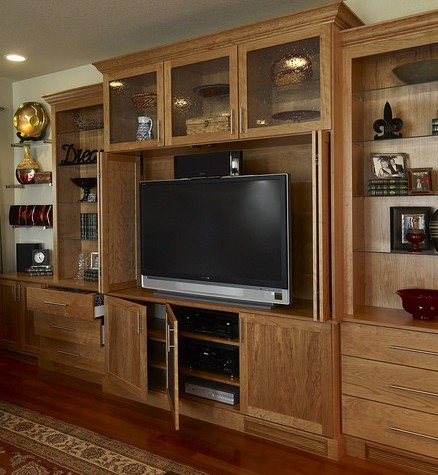 organized entertainment center
