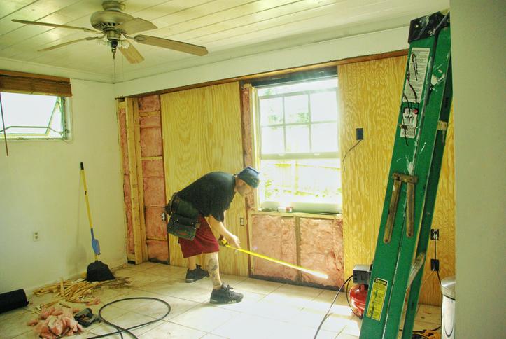 Weekend warrior remodeling garage