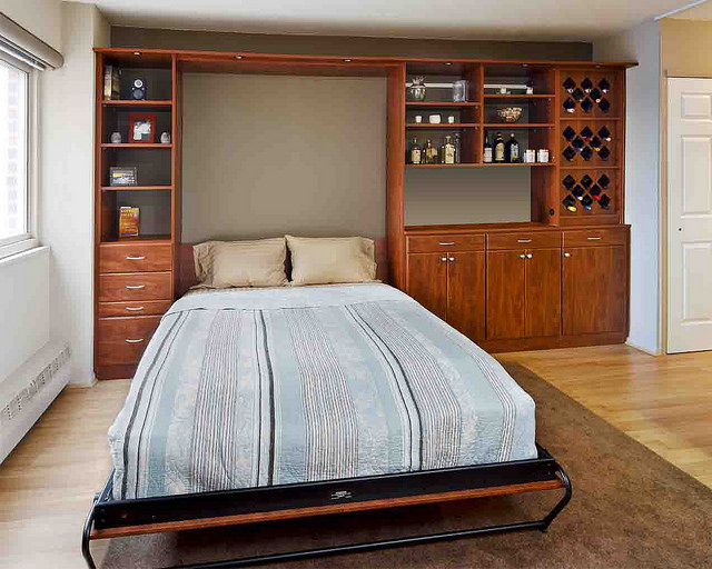 Multifunctional room with wall bed Charlotte