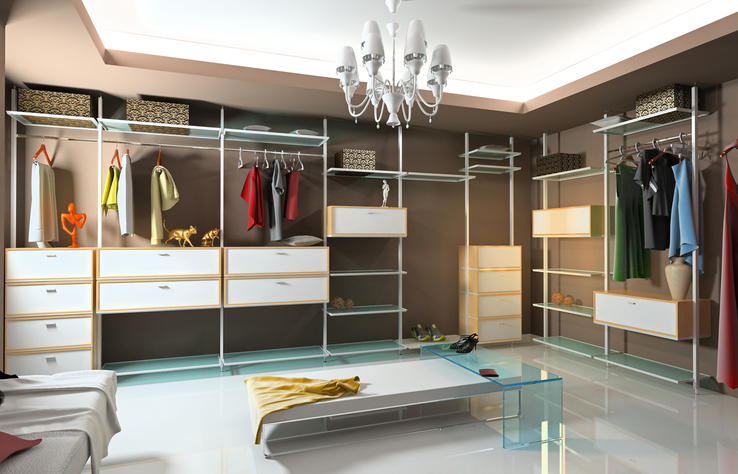 Boutique Custom Closet in Charlotte