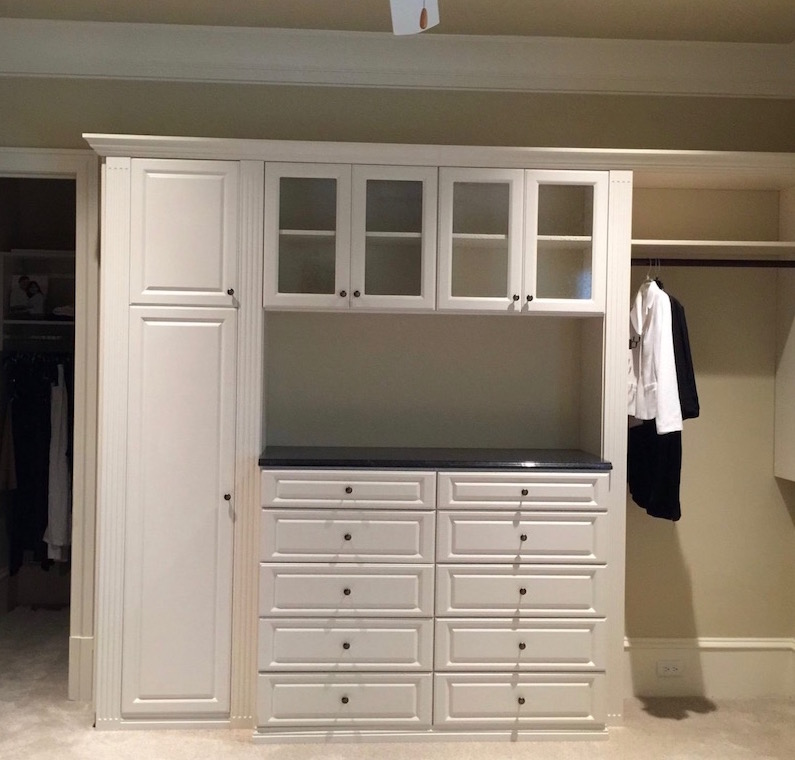 custom closet storage Charlotte