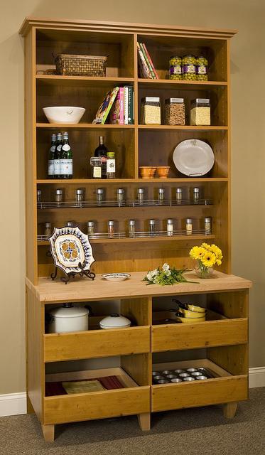 Standalone custom pantry storage buffet Charlotte