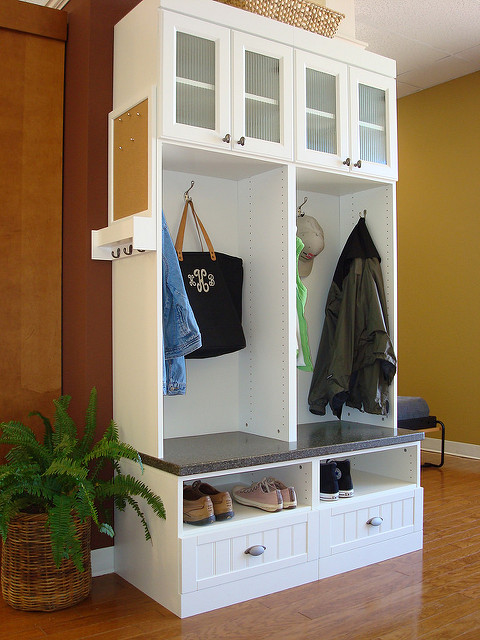 Custom Mudroom Furniture Charlotte