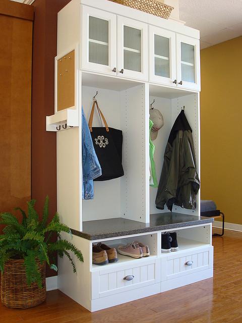 Custom Mudroom Furniture Charlotte