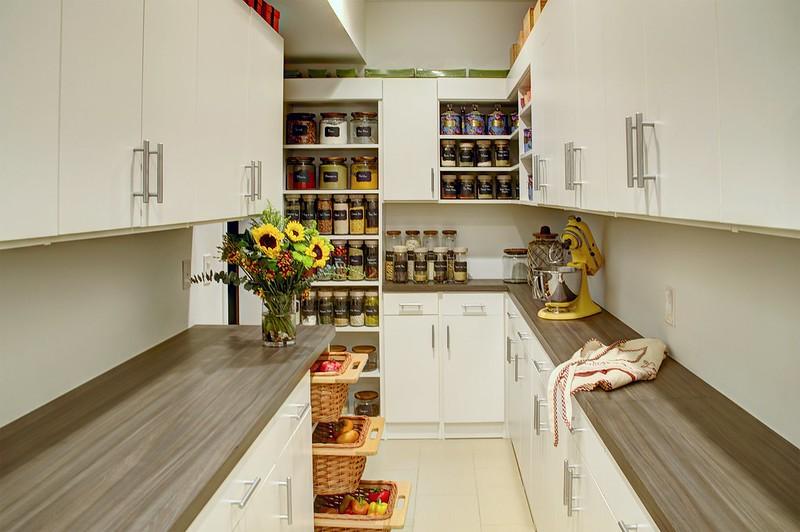 custom charlotte pantry design