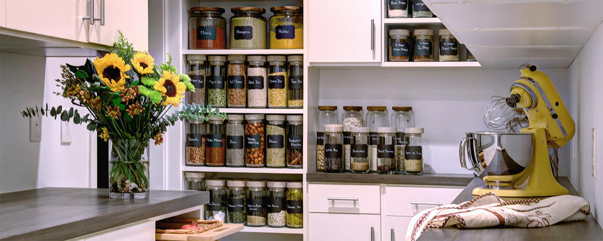 Custom Kitchen Pantry Organization