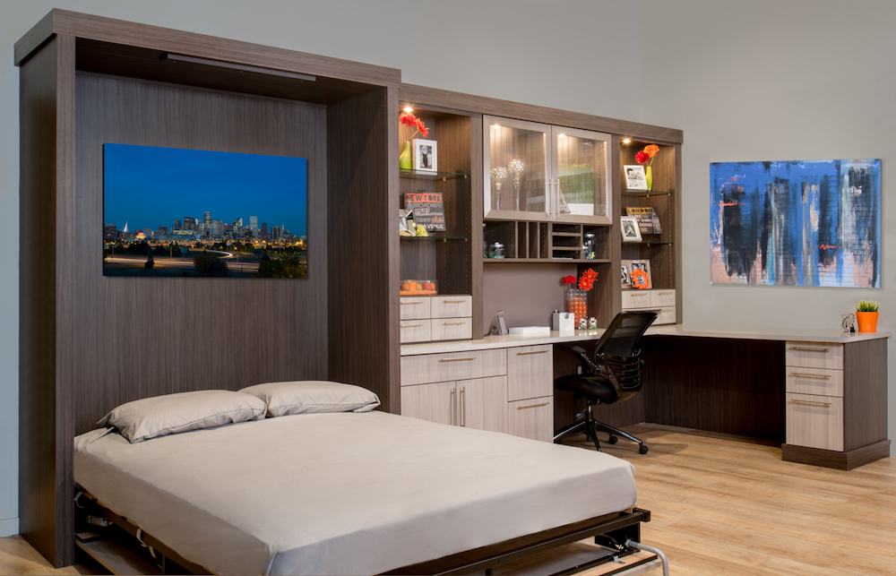Denver Murphy bed with office system