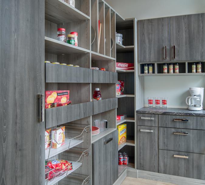 Pantry storage cabinets in Denver