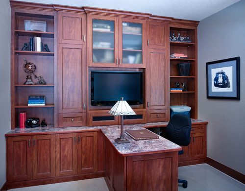 Custom desk and office cabinets - Denver, CO
