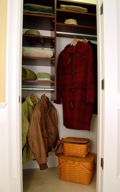 Small entryway closet system Denver
