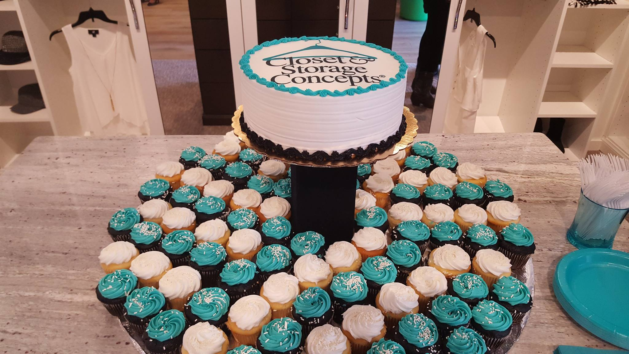 Opening Denver showroom cake